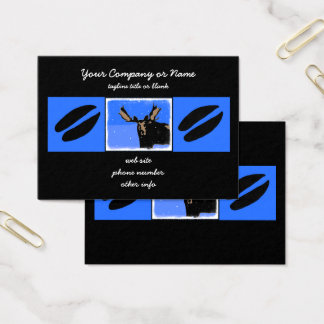 Moose in Winter Business Card