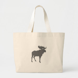 moose large tote bag