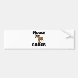 Moose Lover Bumper Sticker