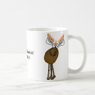 Moose Menora gift mug!