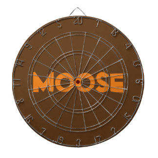 Moose Metal Cage Dartboard