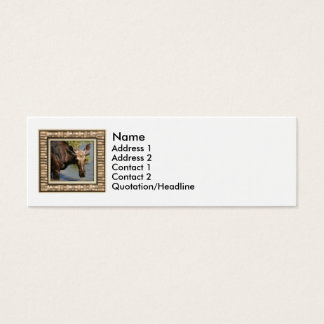 Moose Mini Business Card