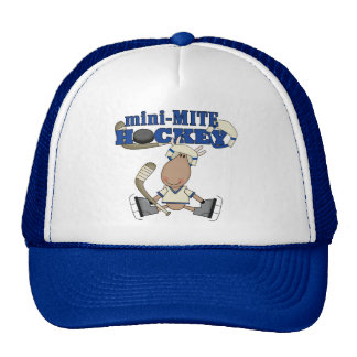 Moose Mini Mite Hockey Tshirts and Gifts Cap
