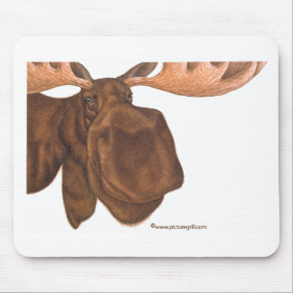 moose mouse mat