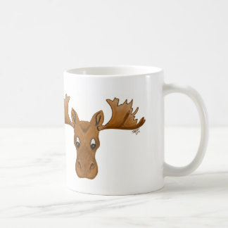 Moose mug, morning cup of jo,
