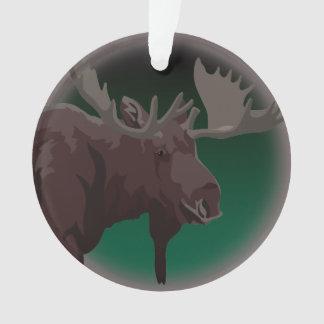 Moose Ornaments Moose Art Christmas Decorations