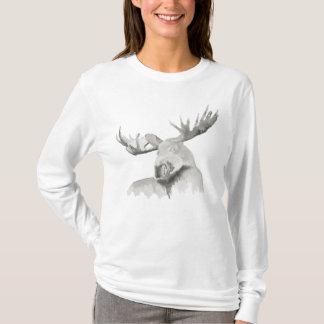 Moose Painting T-Shirt