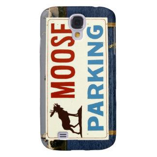 Moose Parking Sign iPhone Case