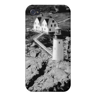 Moose Peak Lighthouse iPhone 4/4S Covers