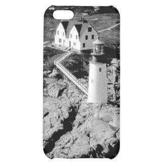 Moose Peak Lighthouse iPhone 5C Cases