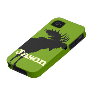 Moose Personalized iPhone Case-Mate iPhone 4 Covers