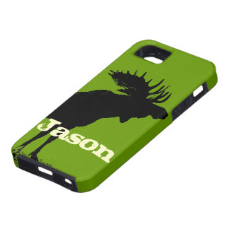 Moose Personalized iPhone Tough iPhone 5 Case