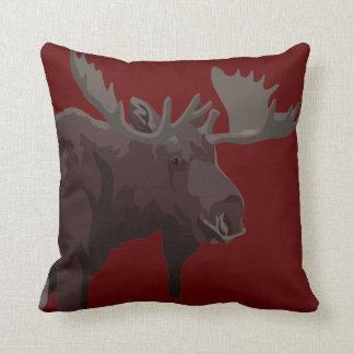 Moose Pillows Moose Art Throw Pillows Customize