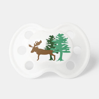 Moose & Pine Tree Dummy