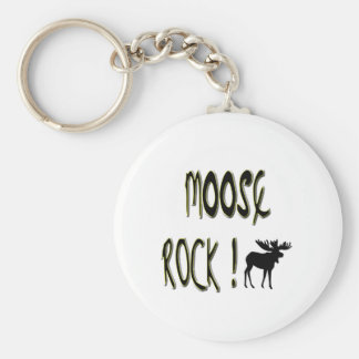 Moose Rock! Keychain