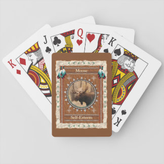 Moose  -Self-Esteem- Classic Playing Cards