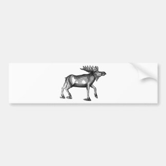 Moose Shirts and Gifts 115 Bumper Sticker