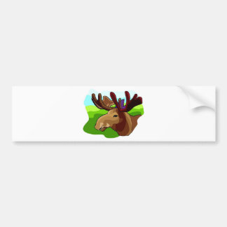 Moose Shirts and Gifts 90 Bumper Sticker