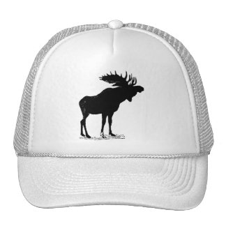 Moose Silhouette Cap
