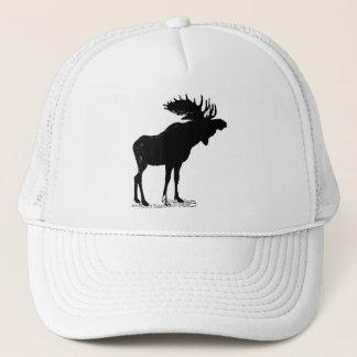 Moose Silhouette Trucker Hat