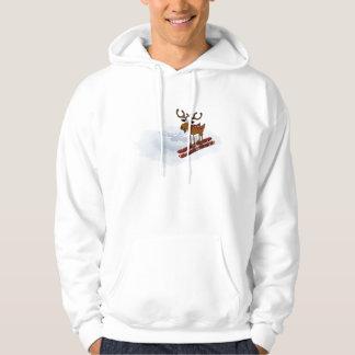 Moose Ski Hoodie