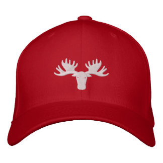 Moose Softball 2014 Flexfit Hat Embroidered Hat