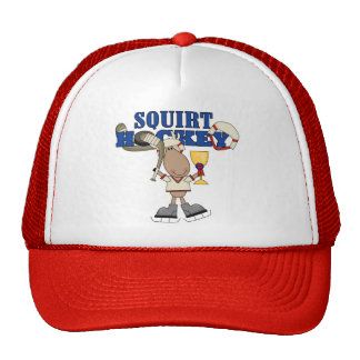 Moose Squirt Hockey Champ Tshirts and Gifts Cap