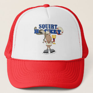 Moose Squirt Hockey Champ Tshirts and Gifts Trucker Hat