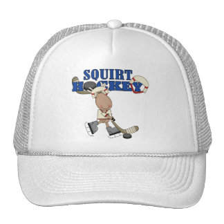 Moose Squirt Hockey Tshirts and Gifts Cap