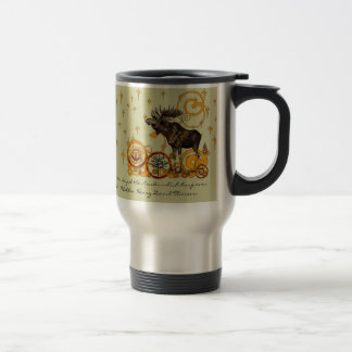 Moose Stein-Walden, Henry David Thoreau Quote Travel Mug