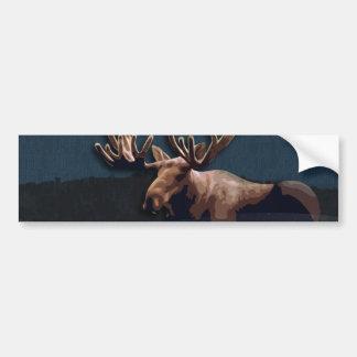 Moose Talk Bumper Sticker