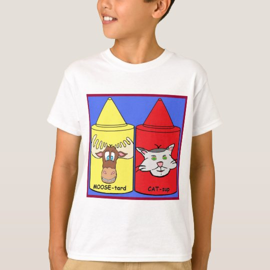 MOOSE-tard and CAT-sup T-Shirt