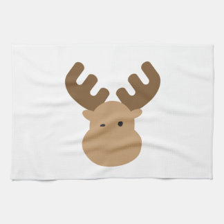 Moose Tea Towel