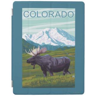Moose with MountainColorado iPad Cover
