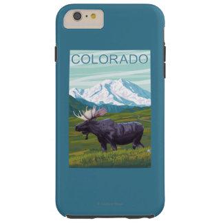 Moose with MountainColorado Tough iPhone 6 Plus Case
