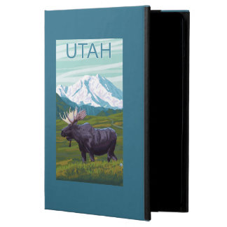 Moose with MountainUtah Case For iPad Air