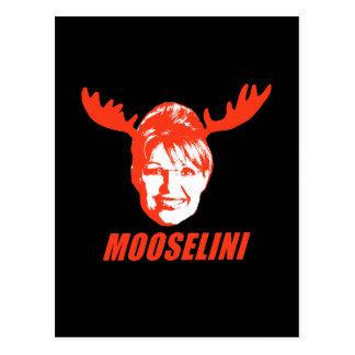 Mooselini T-shirts and Gifts Postcard