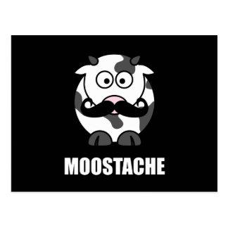 Moostache Postcard