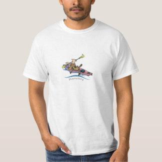 moosyaking  Vermont moose kayaking T-shirt