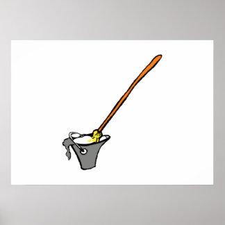 Mop Bucket Poster