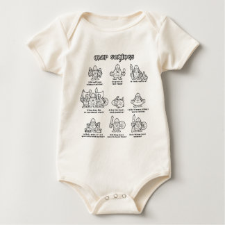 MOP Sayings Baby Bodysuit