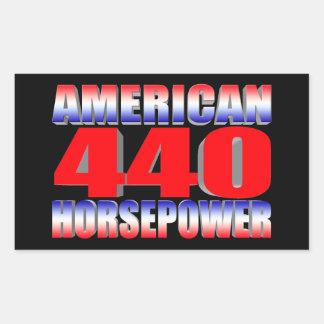 Mopar 440 Dodge Rectangular Sticker