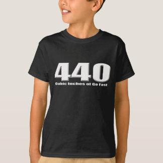 Mopar 440 six pack goes fast tshirts