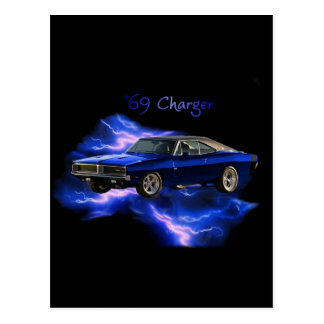 Mopar:  '69 Dodge Charger Postcard