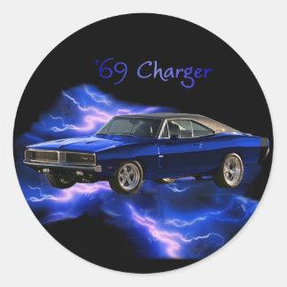 Mopar 69 Dodge Charger Sticker