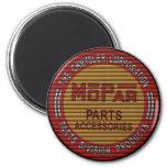mopar blinds retro garage sign 6 cm round magnet