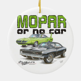 MOPAR or No Car Christmas Ornament
