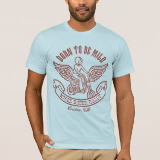 Moped Biker Rally T-Shirt