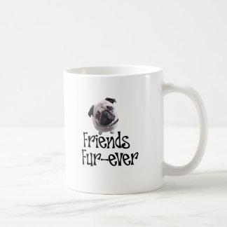 "Mops ""Friends Fur-ever"" Mugs"
