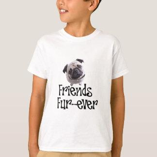"""Mops """"Friends Fur-ever"""" T-Shirt"""